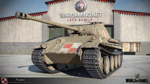 """""""Pudel"""" wjedzie do świata World of Tanks"""